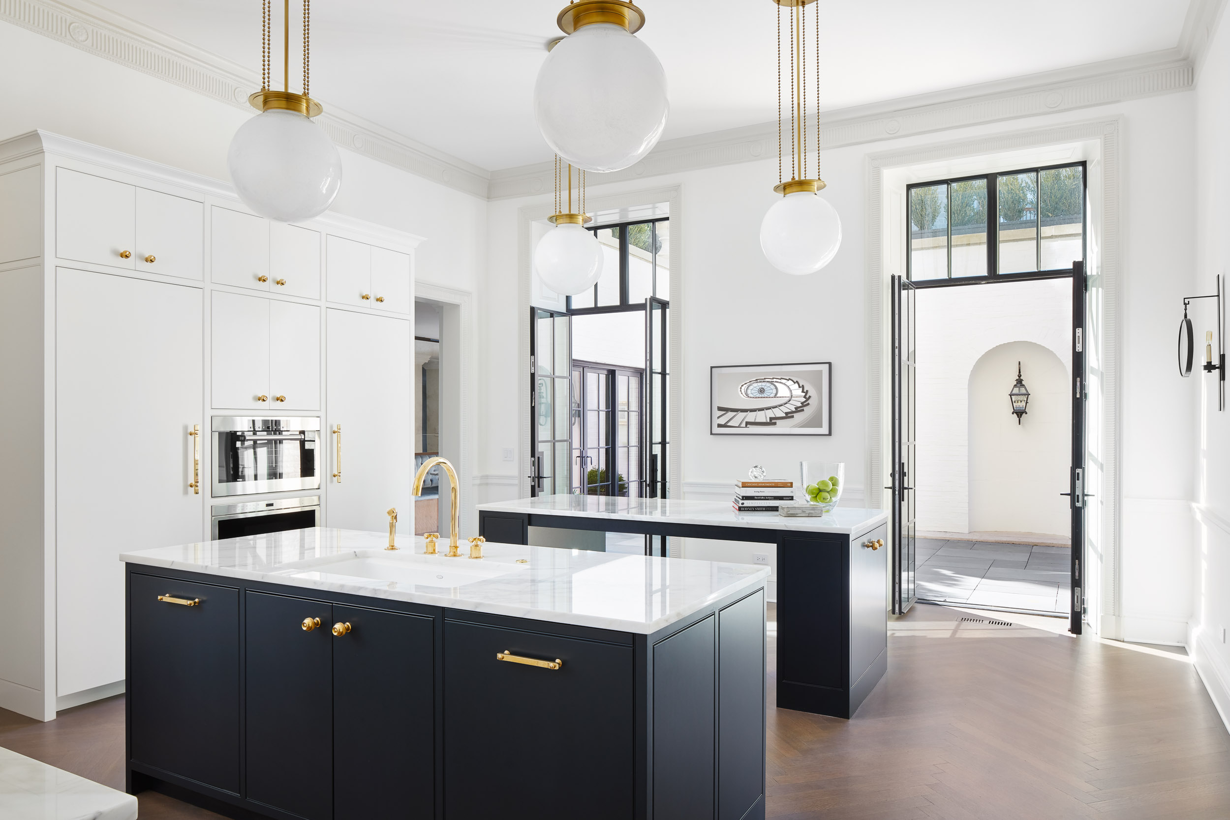 Lincoln Park Townhome Kitchen