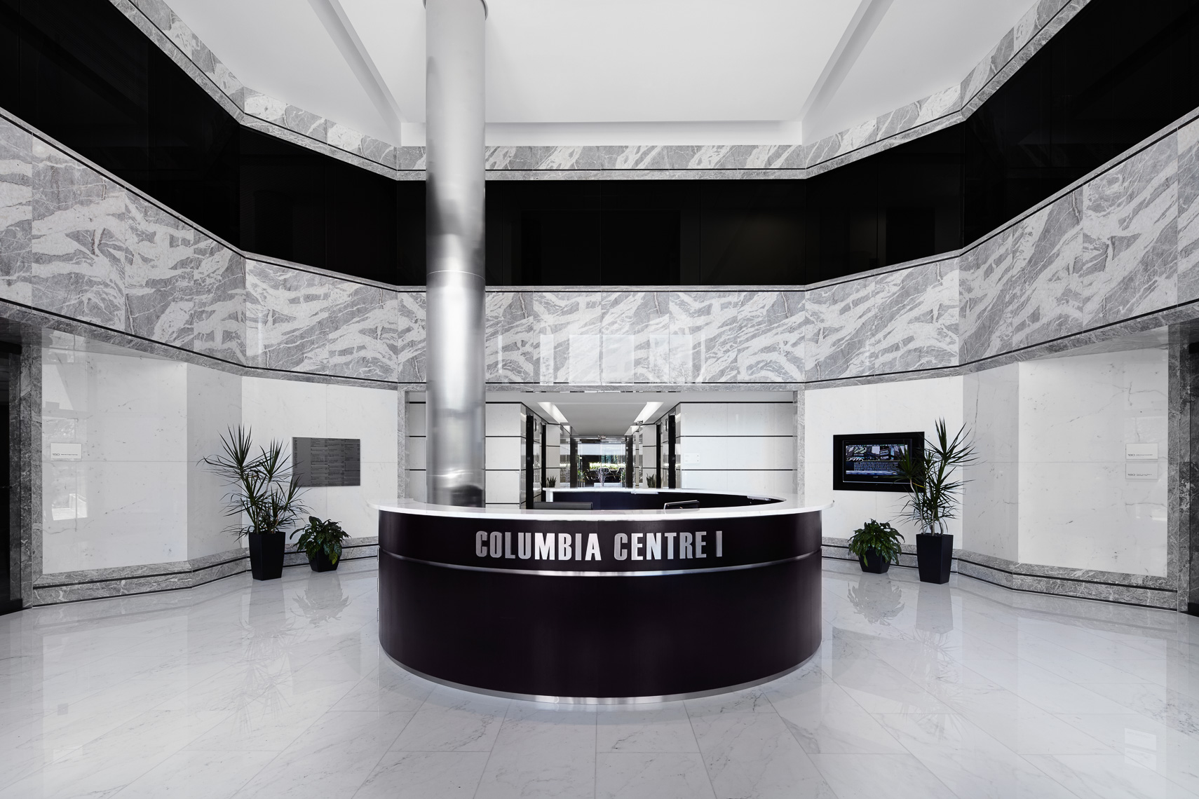 Columbia Center Front Desk
